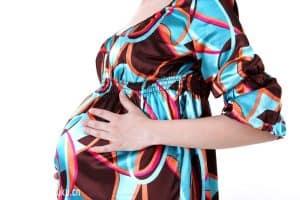 Беременная на 40 неделе беременности