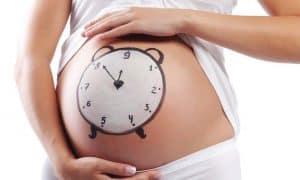 Беременная на 41 неделе