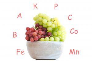 Витаминный состав винограда