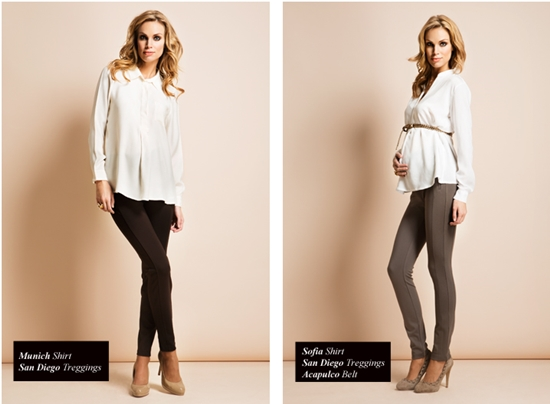 Модные тенденции для беременных: Брюки, комбинезоны и джинсы